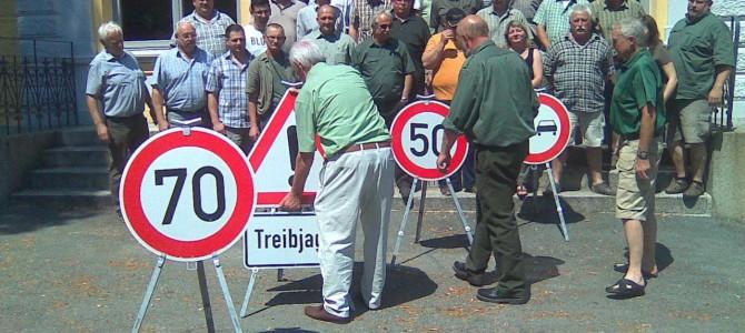 Seminar zur Verkehrssicherheit bei Gesellschaftsjagden