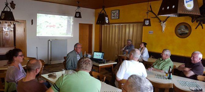 Blattseminar mit Herrn Dr. Bartel Klein