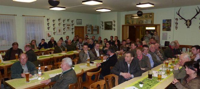 Jahreshauptversammlung der Jägerschaft Hof