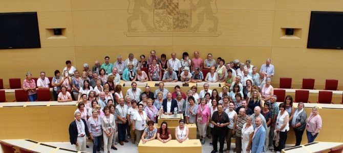 Besichtigung des Bayerischen Landtages